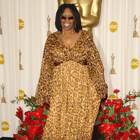 Whoopi Goldberg on the red carpet