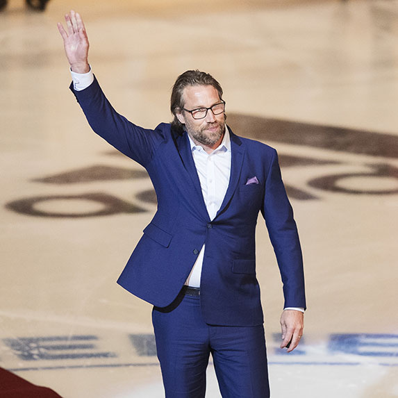 7. Peter Forsberg (estimated net worth: $54 million)
