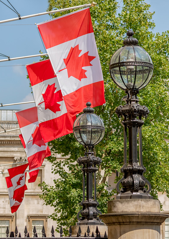 Canadian Embassy in London, UK