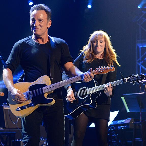 Springsteen and Patti Scialfa