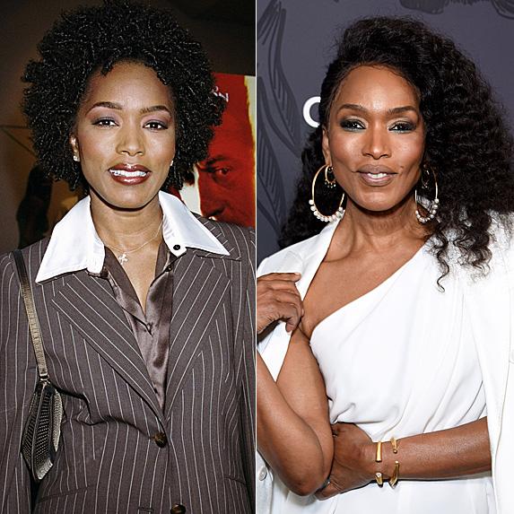 Angela Bassett in 2001 and 2019