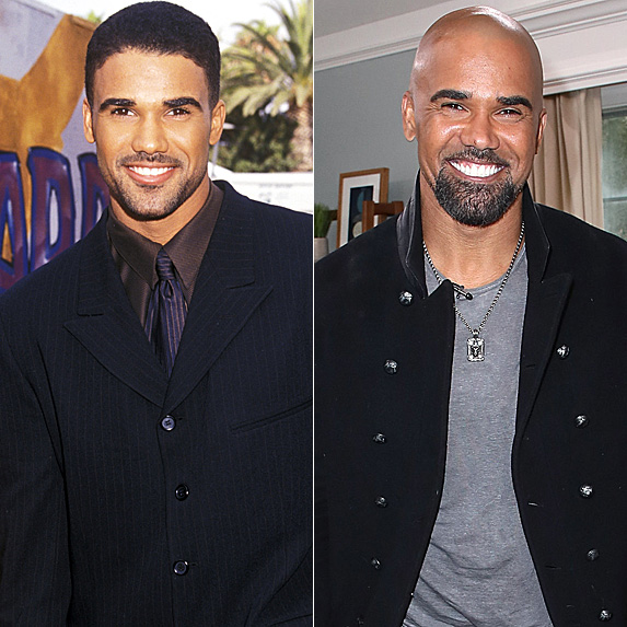 Shemar Moore in 1998 and 2018