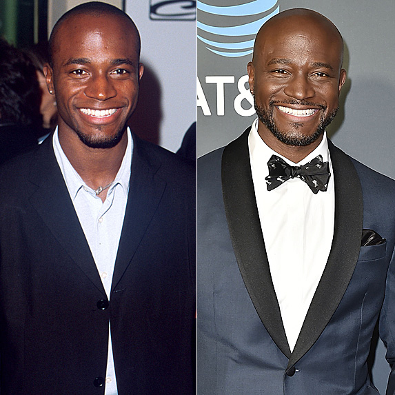 Taye Diggs in 2000 and 2019