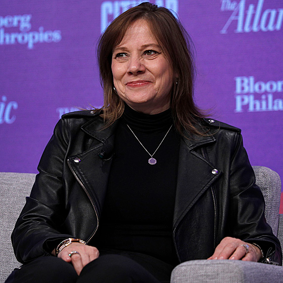 Mary Barra, Chairwoman and CEO of General Motors Company (GMC)