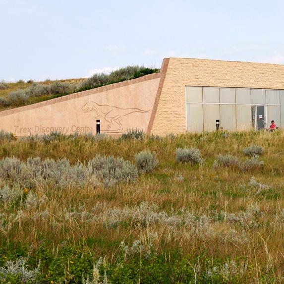 T.Rex Discovery Centre in Eastend, Saskatchewan