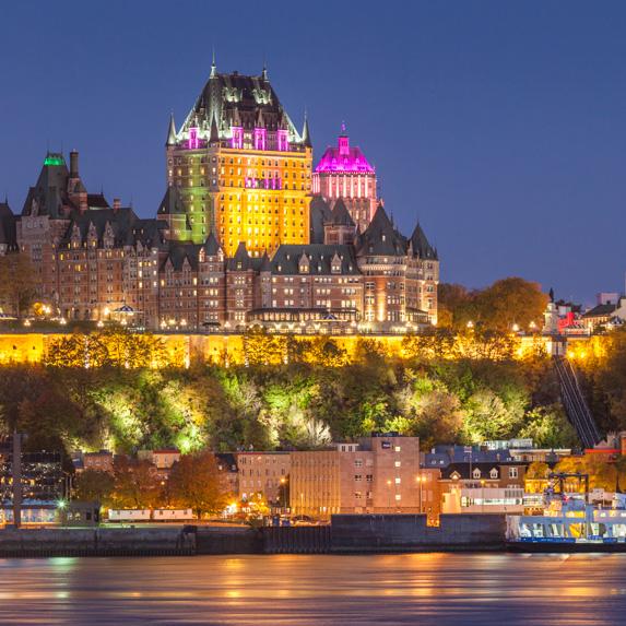 Fairmont La Château Frontenac, Quebec City, Quebec