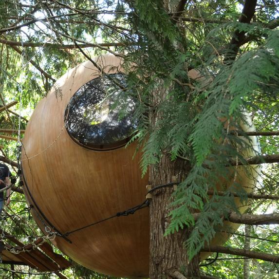 Free Spirit Spheres, Qualicum Beach, British Columbia