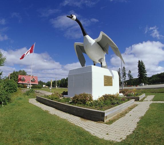 """The famous """"Wawa Goose"""" in Wawa, Ontario"""