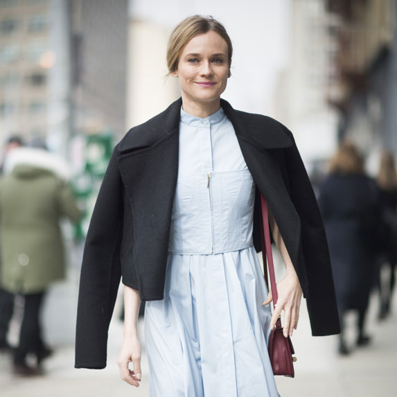Diane Kruger knows how to keep things simple and stylish