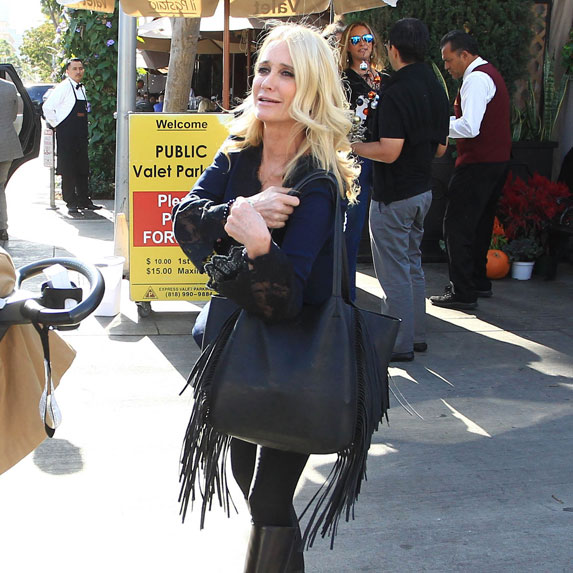 Kim Richards shopping