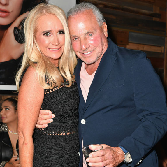 Kim Richards with her ex-boyfriend Wynn Katz