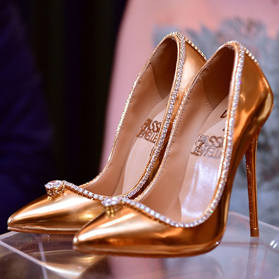 The Passion Diamond Shoe, $17 million USD, most expensive shoe in the world