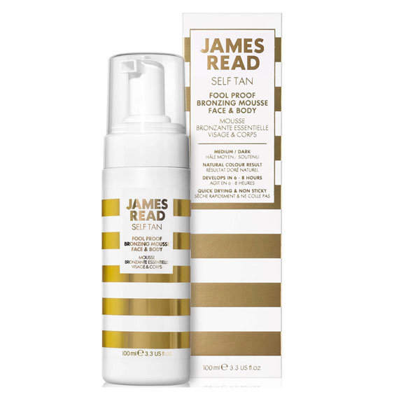 James Read Self Tan Fool Proof Bronzing Mousse