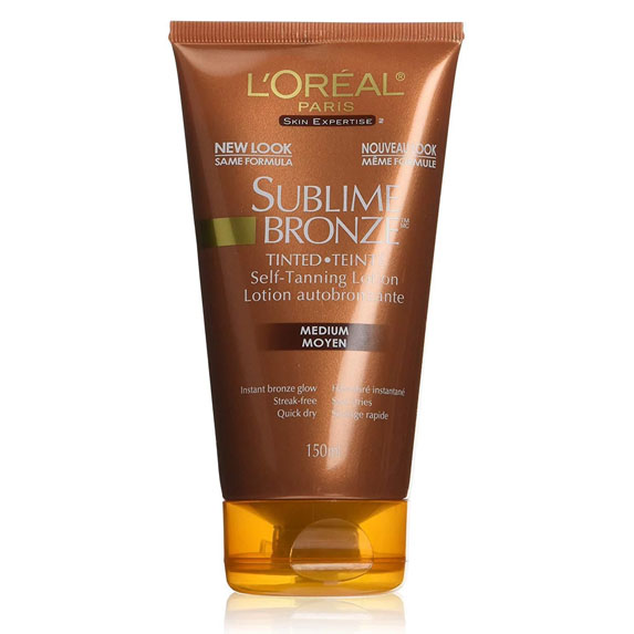 L'Oréal Paris Sublime Bronzer Tinted Tanning Lotion