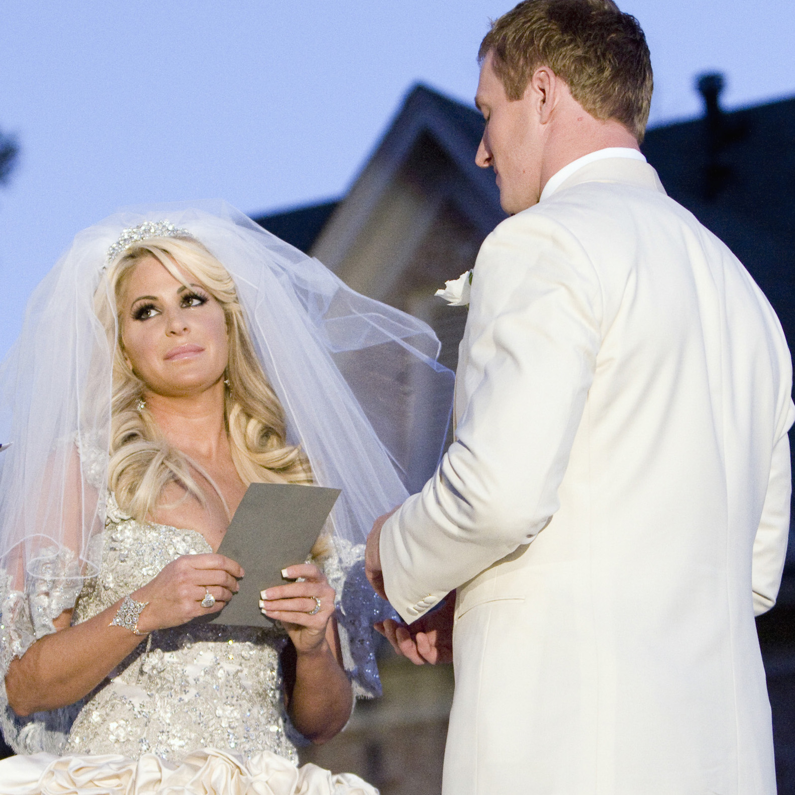 Kim Zolciak's own Baracci gown