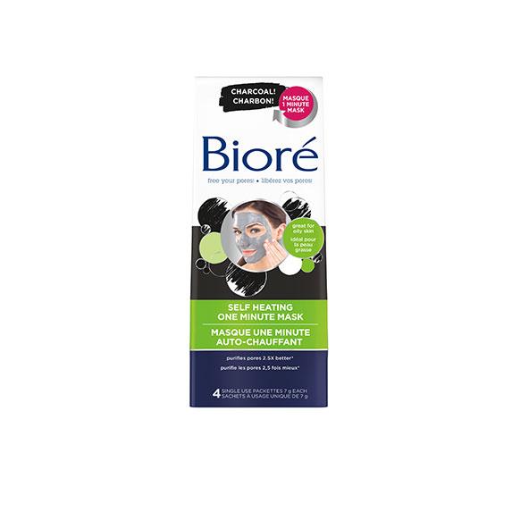 Bioré's Self Heating One Minute Mask
