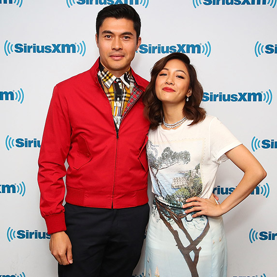 Henry Golding and Constance Wu for Crazy Rich Asians