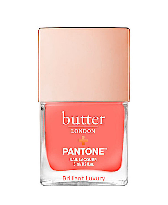 Coral nail polish from Butter London