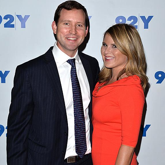 Henry Hager and Jenna Bush Hager