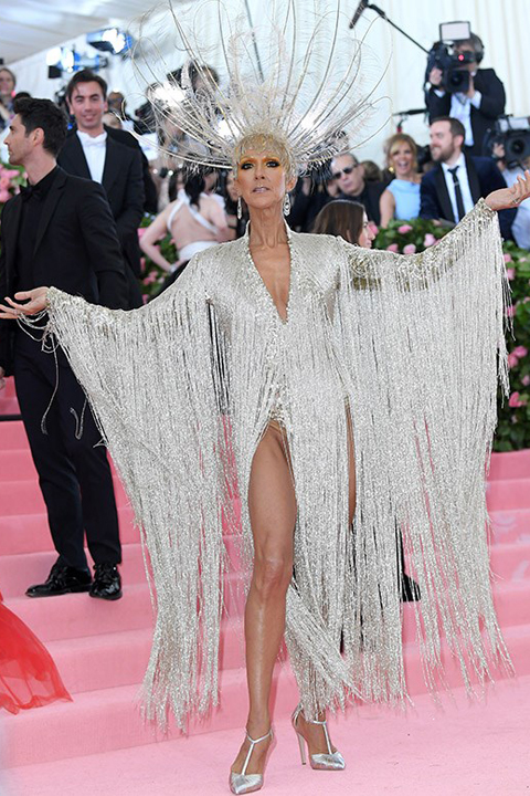 Celion Dion kills it at the 2019 Met Gala in New York