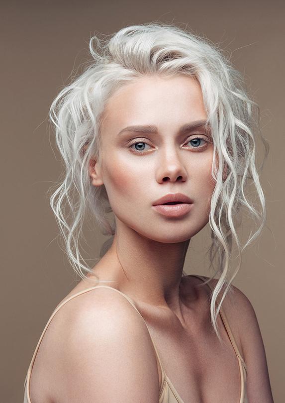 icy blonde hair colour