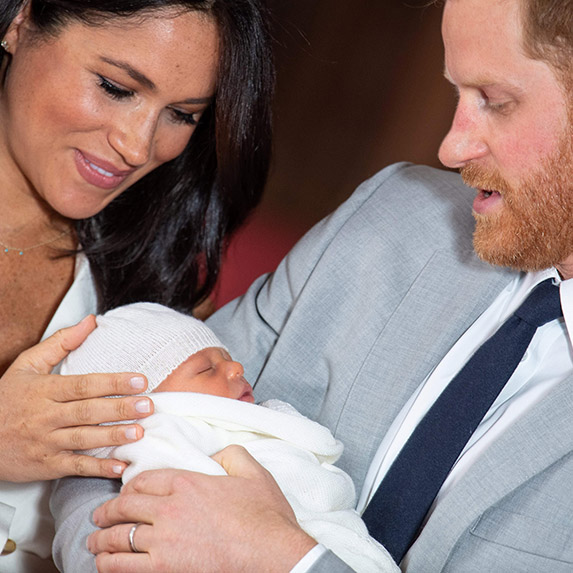 New family Meghan Markle and Baby Sussex, Archie Windsor