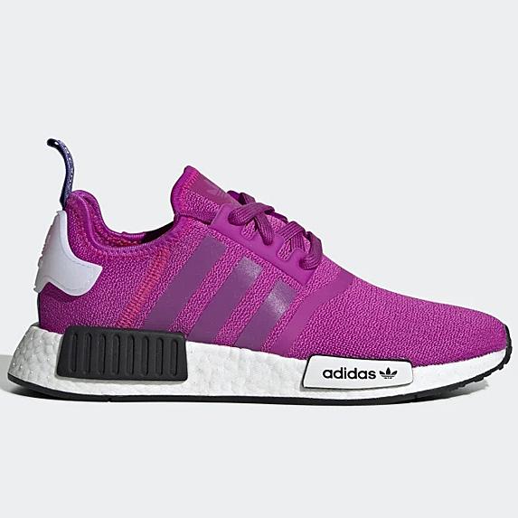 Hot pink sneakers