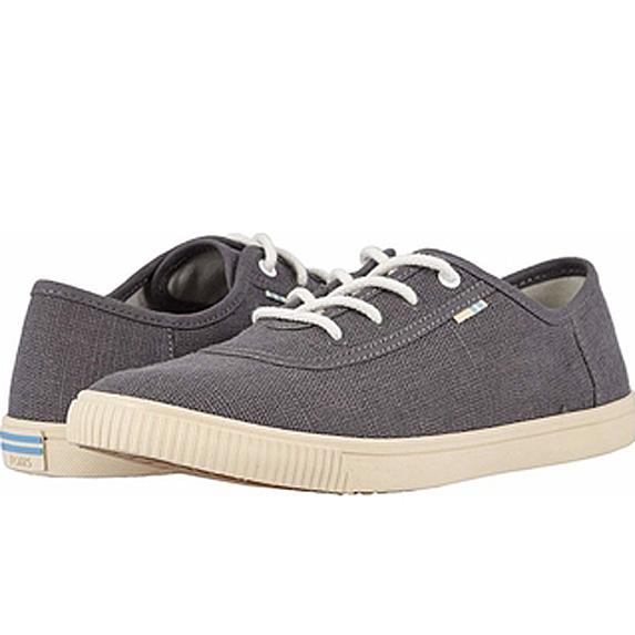 Grey canvas sneakers