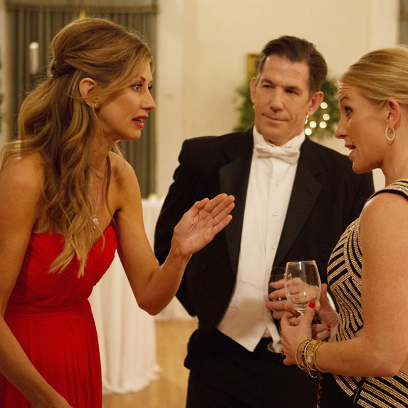 Ashley Jacobs and Thomas Ravenel on Southern Charm