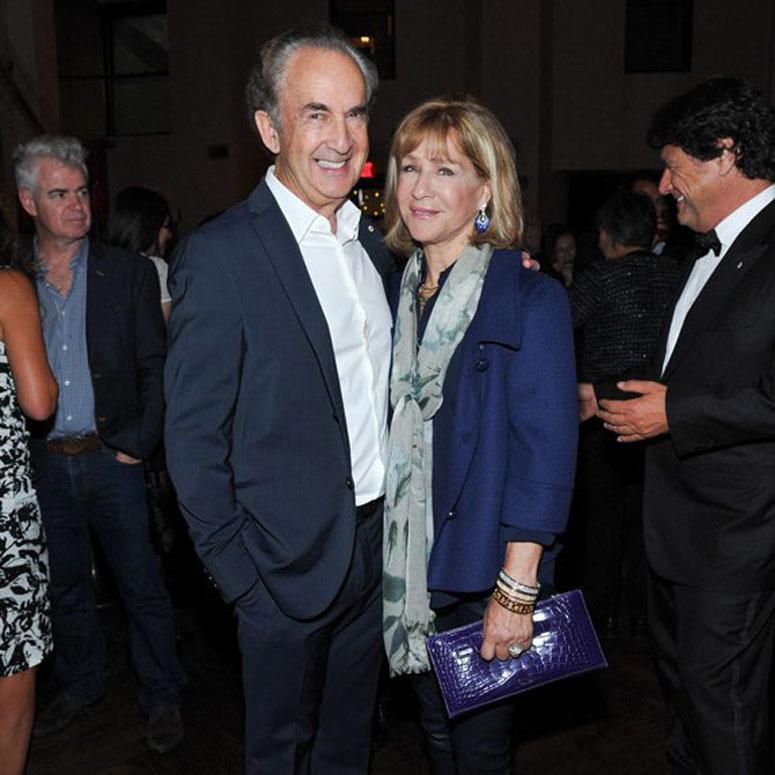 Gerry Schwartz and Heather Reisman at an event