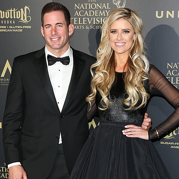 Tarek El Moussa and Christina Anstead