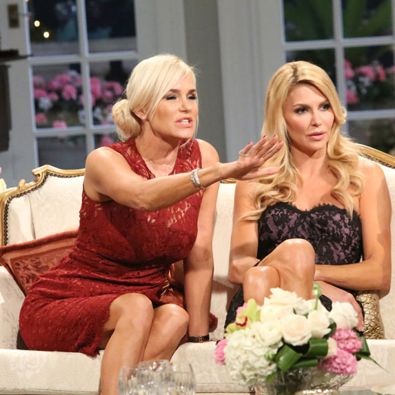 Yolanda Hadid at The Real Housewives of Beverly Hills reunion