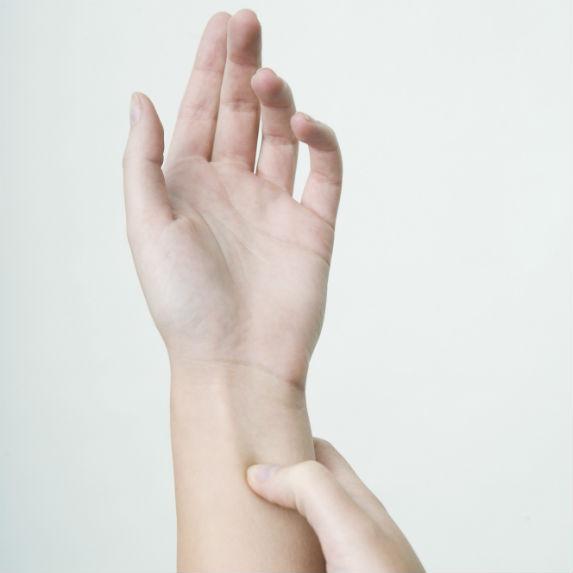 Wrist pressure point