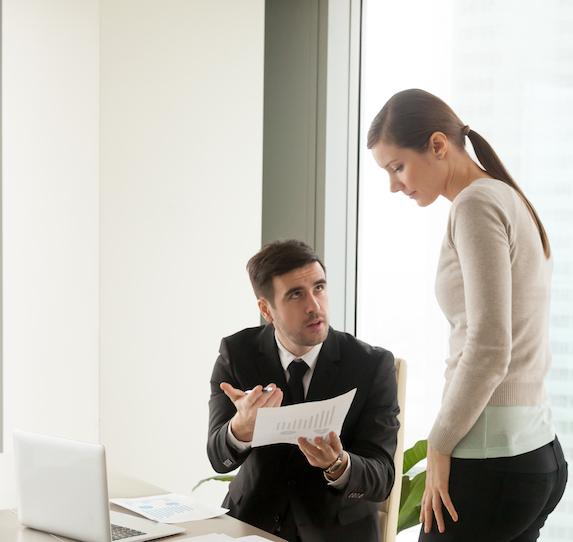 Disagreement between employees at work