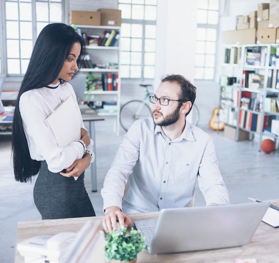 Tension between coworkers