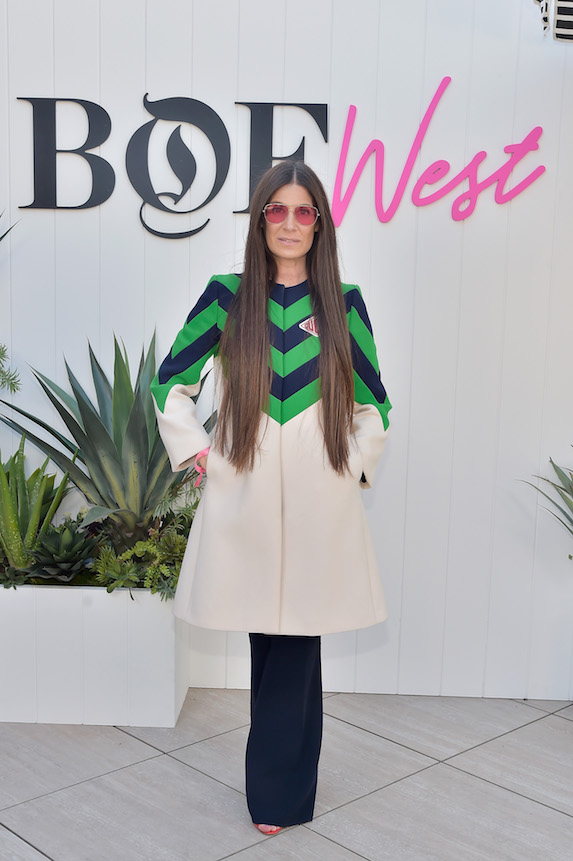Celebrity stylist Elizabeth Saltzman