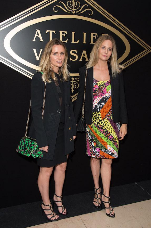 Celebrity stylists Jill Lincoln and Jordan Johnson