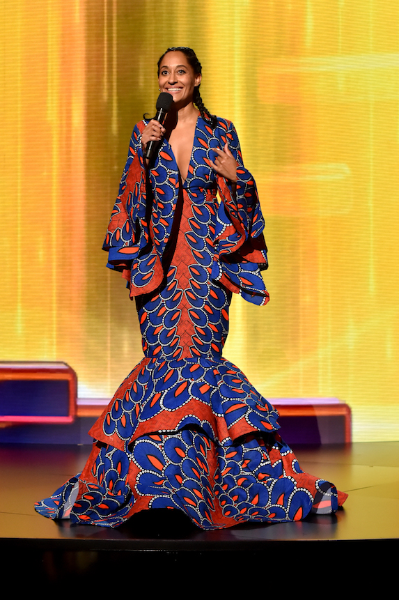 Tracee Ellis Ross hosts the 2018 American Music Awards
