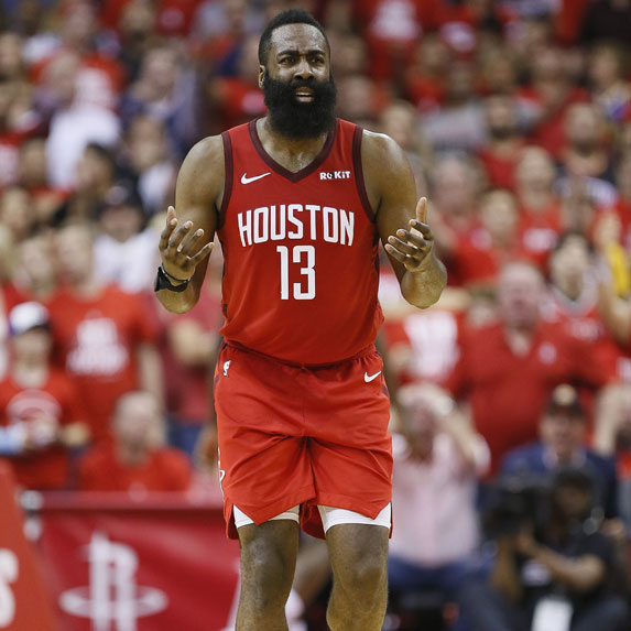 James Harden playin gon the Houston Rockets