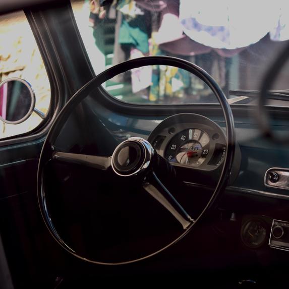 interior of a car