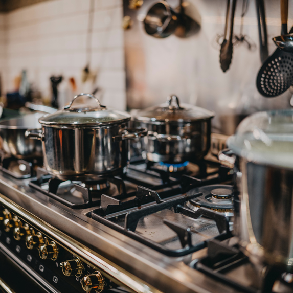 a stove top