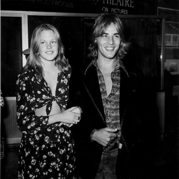 Melanie Griffith and Don Johnson