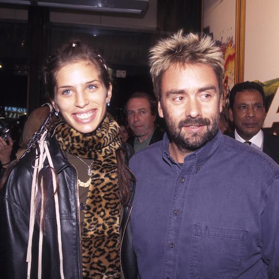 Maiwen Besco and Luc Besson