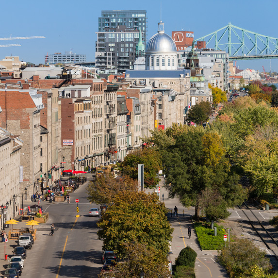 Modern photo of Montreal