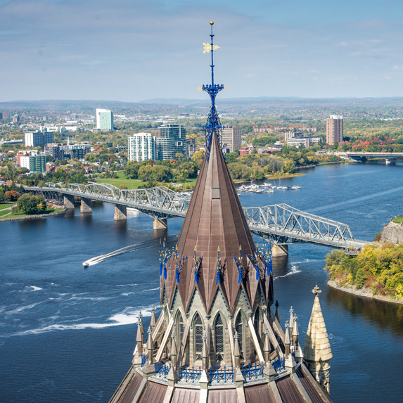 Modern day image of Ottawa-Hull