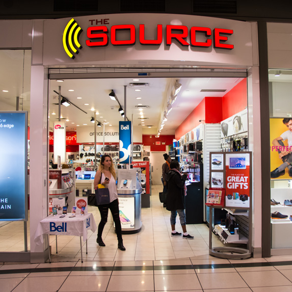 The Source store
