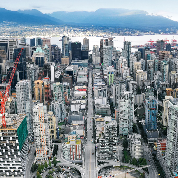 Vancouver in 2018
