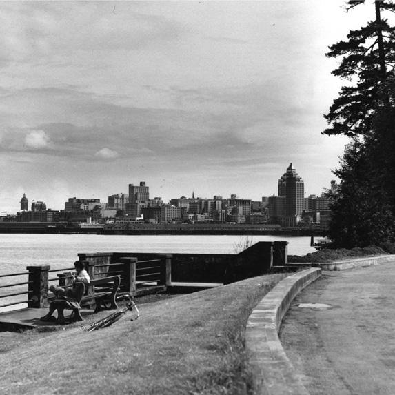 Vancouver skyline 1950s
