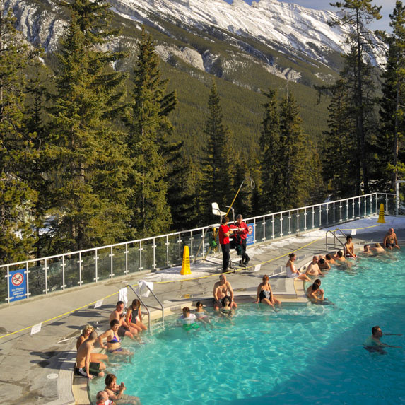 Banff Upper Hot Springs, Canada