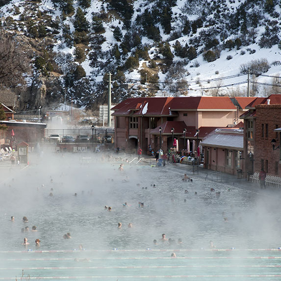 Glenwood Hot Springs, U.S.